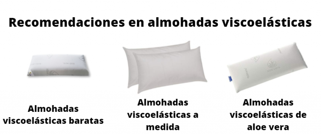 recomendaciones almohadas viscoelásticas