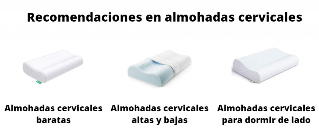 recomendaciones en almohadas cervicales